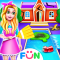 Superstar House Clean Up-Big House Cleaning Games