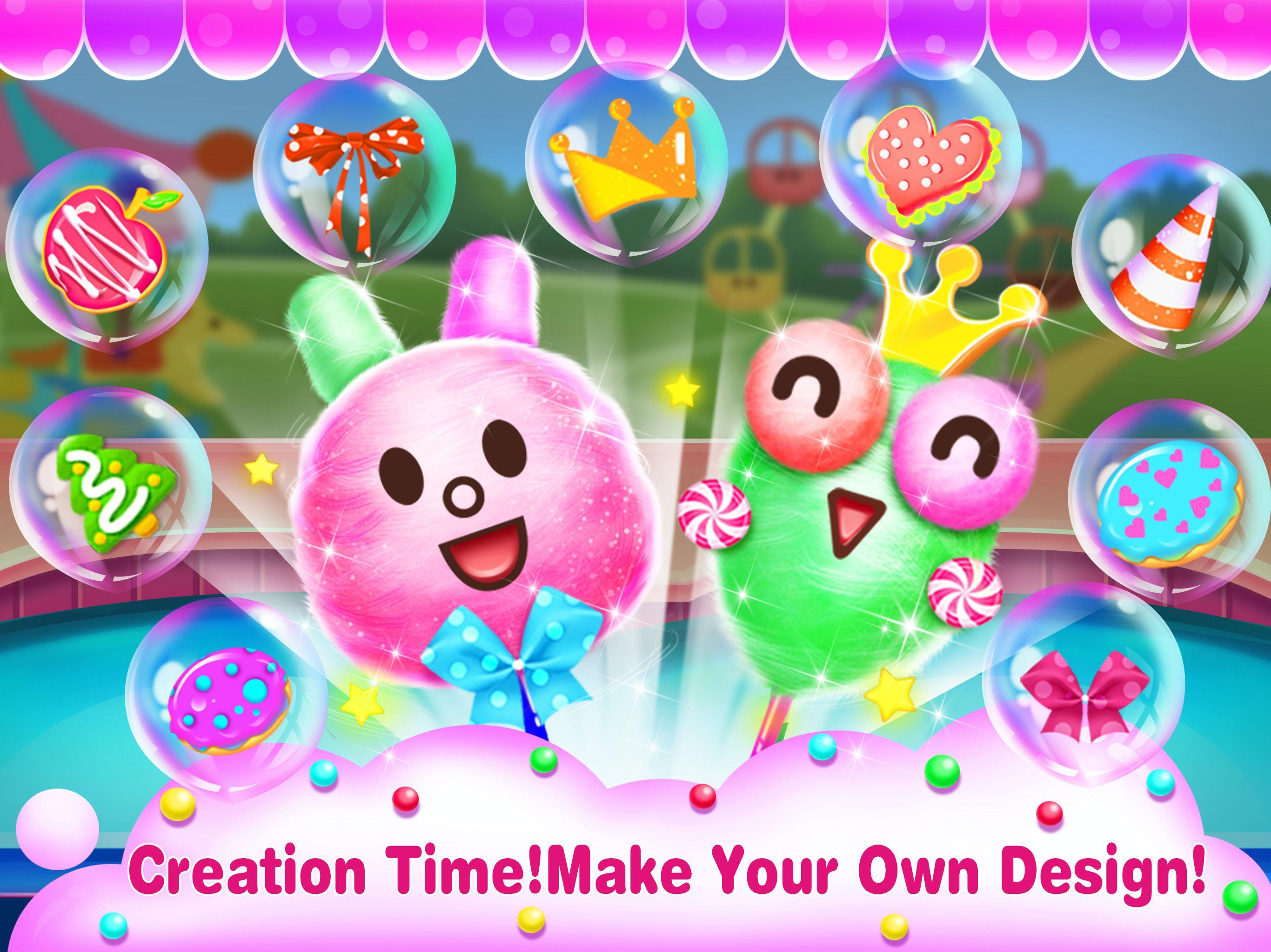 Colorful Cotton Candy Maker- Sweet Candy Games for Android