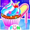 High Heel Cupcake Maker-Bakery Food Games Free