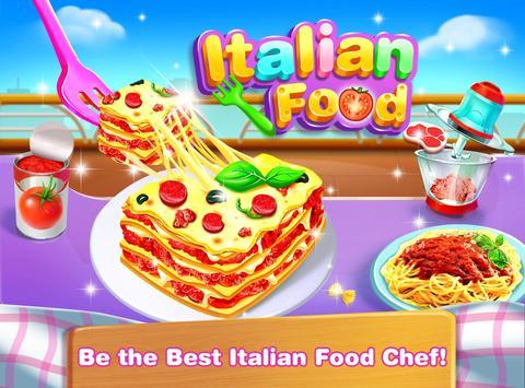 Cheese Lasagna Cooking -Italian Baked Pasta poster