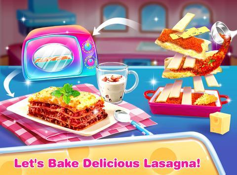 Cheese Lasagna Cooking -Italian Baked Pasta screenshot 3