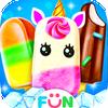 Unicorn Icepop - Ice Popsicles Mania-icoon