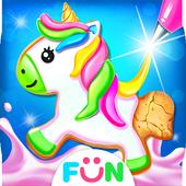 Toko Makanan Pencuci Mulut Kue Unicorn ikon
