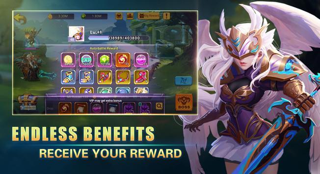 Mobile League: Shadow Wars screenshot 1