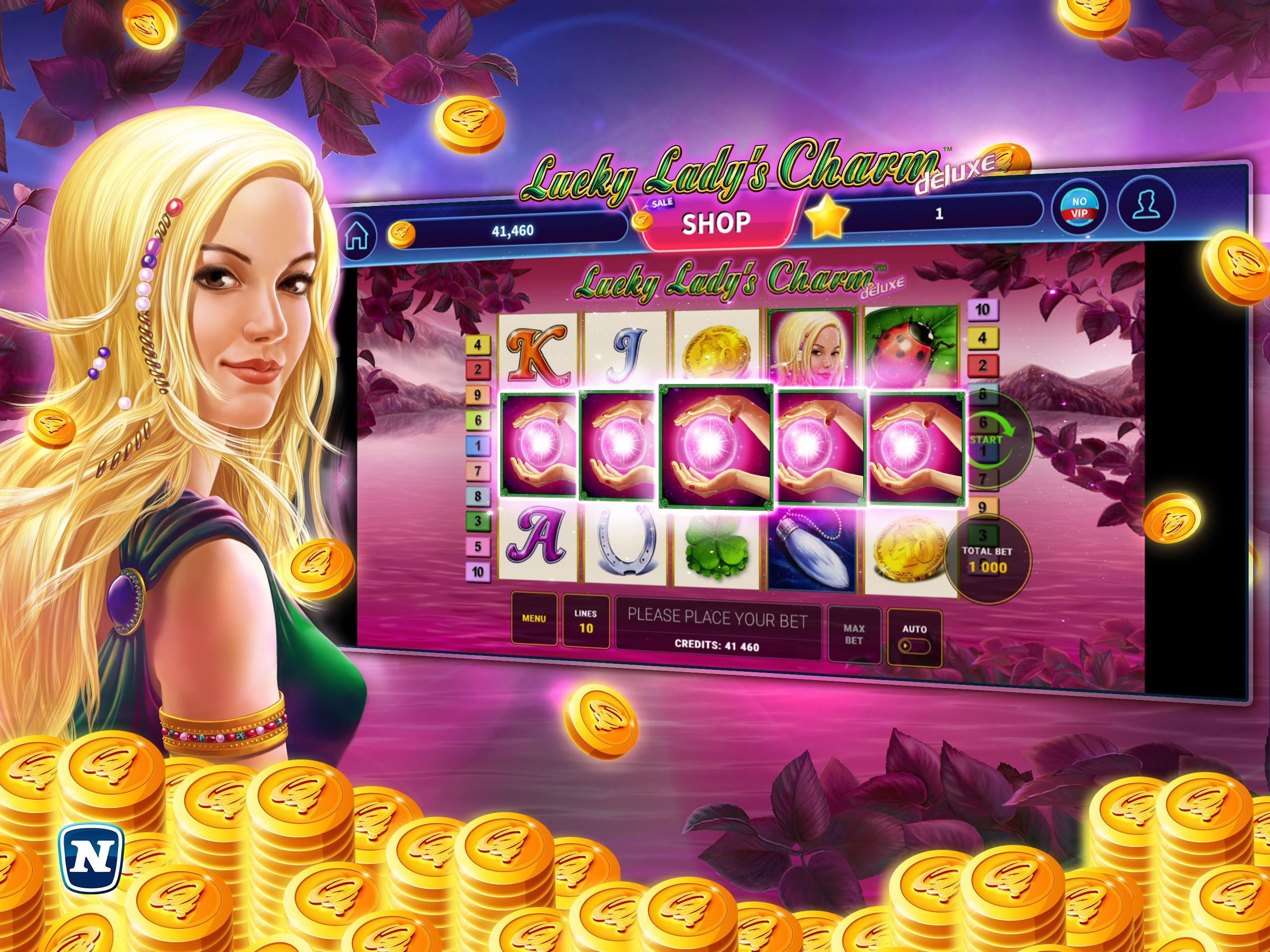 Lucky Lady Charm Online Casino