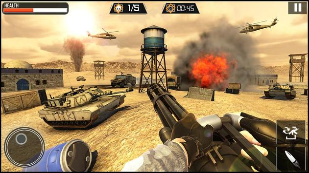 Modern Gun Strike screenshot 5