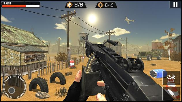 Modern Gun Strike screenshot 8