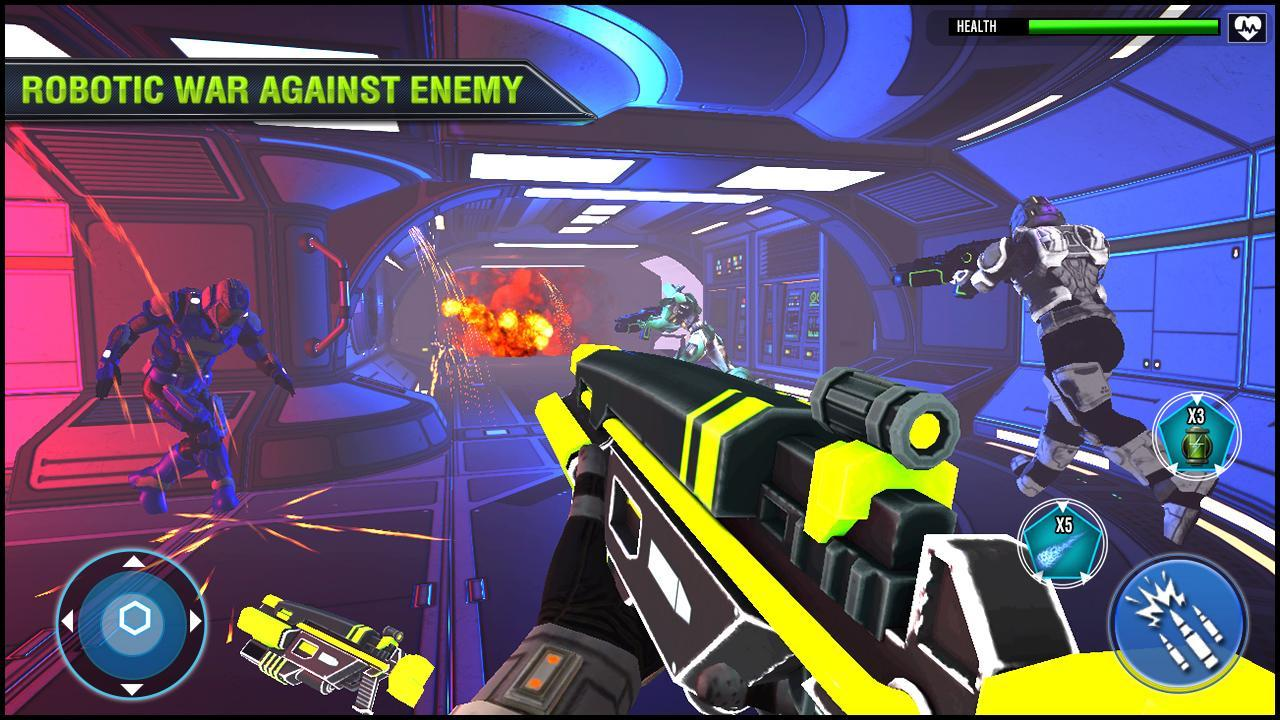 Robo Fire Legacy: Free Robot Warrior Battlefield for Android