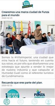 Funza Ciudad líder poster