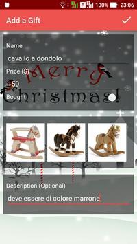ChristmasGift list screenshot 4