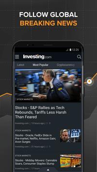 Investing.com: Stocks, Finance, Markets & News screenshot 2