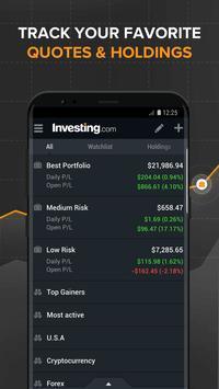 Investing.com: Stocks, Finance, Markets & News screenshot 7