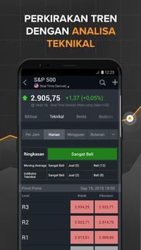 Finance: Bursa, Pasar Saham, Berita & Portofolio screenshot 1