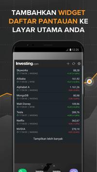 Finance: Bursa, Pasar Saham, Berita & Portofolio screenshot 7
