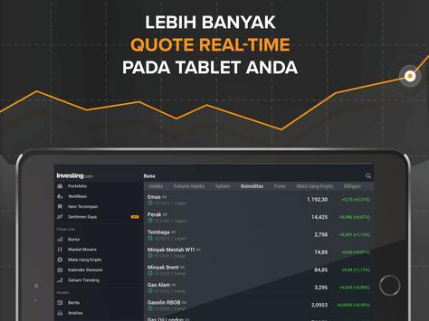 Finance: Bursa, Pasar Saham, Berita & Portofolio screenshot 9
