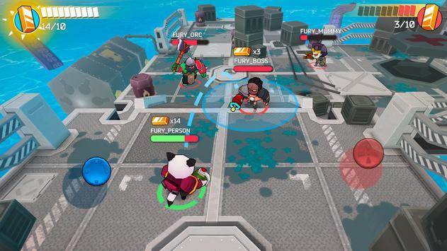 Fury Wars скриншот 4