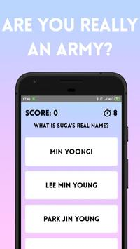 BTS Army Quiz screenshot 5