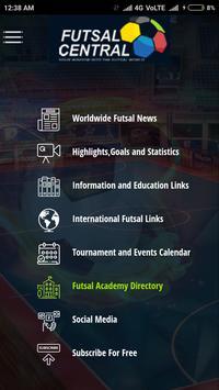 Futsal Central screenshot 1