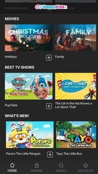 7 Schermata HappyKids - Free, Kid Safe Videos, Shows & Movies