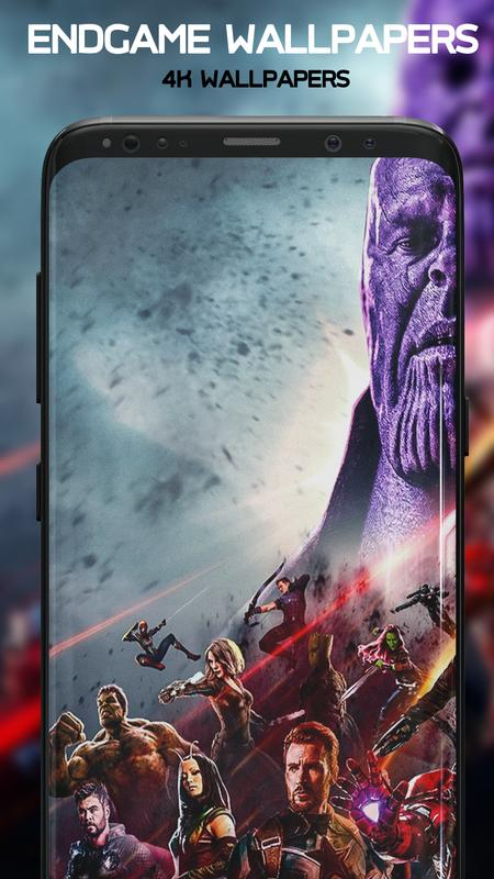 EndGame Wallpapers: 4K Superheroes Wallpapers for Android