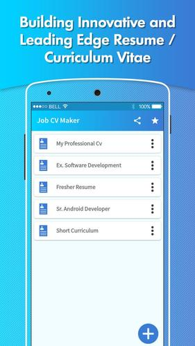 Professional Resume Builder Job Cv Maker Apk 1 3 Download For Android Download Professional Resume Builder Job Cv Maker Apk Latest Version Apkfab Com