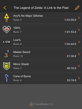 FramePerfect Speedrun Timer screenshot 6