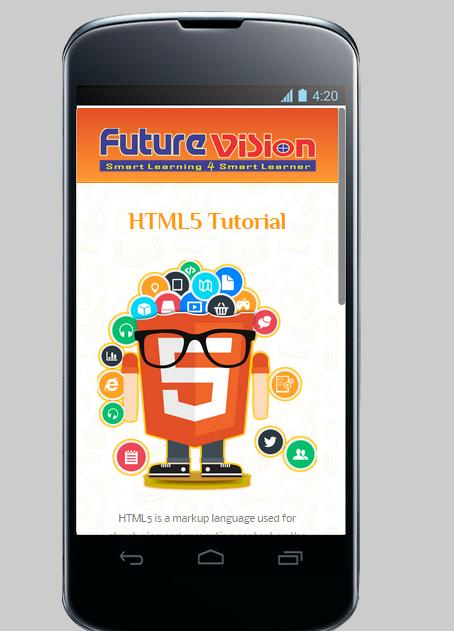 Free html5 tutorial for android apk download.