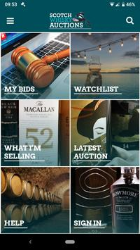 Scotch Whisky Auctions poster