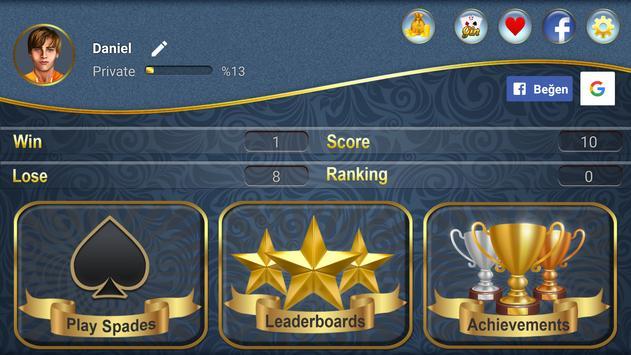 Spades screenshot 4