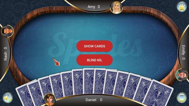 Spades screenshot 1