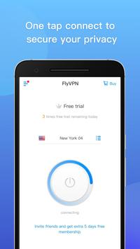 FlyVPN screenshot 1