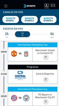 DIRECTV Sports captura de pantalla 2