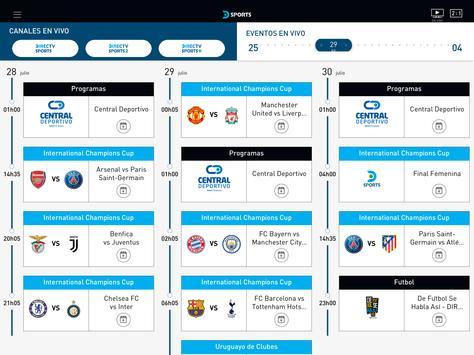 DIRECTV Sports captura de pantalla 6