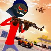 Stickman Mafia Gangster Gang Wars icon
