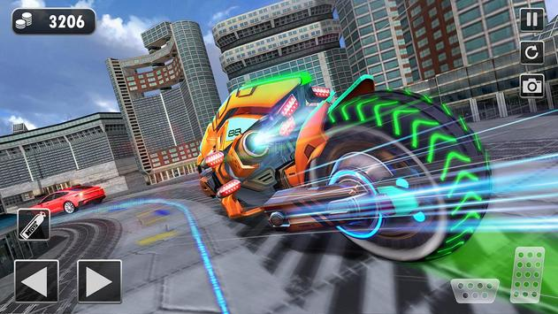 Light Bike Flying Stunt Racing Simulator screenshot 10