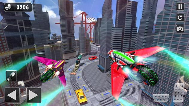 Light Bike Flying Stunt Racing Simulator screenshot 2