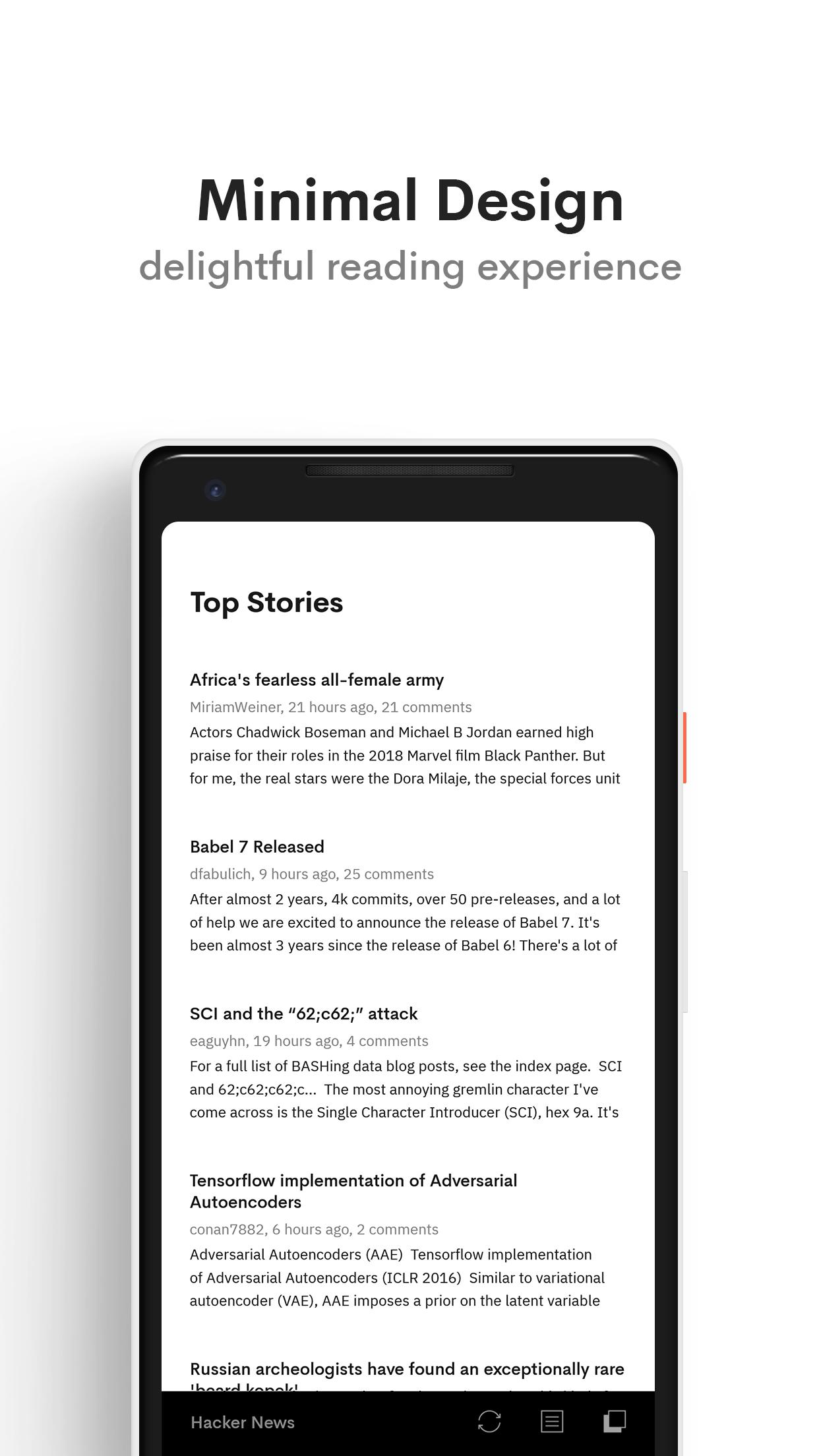 Hacker News for Android - APK Download