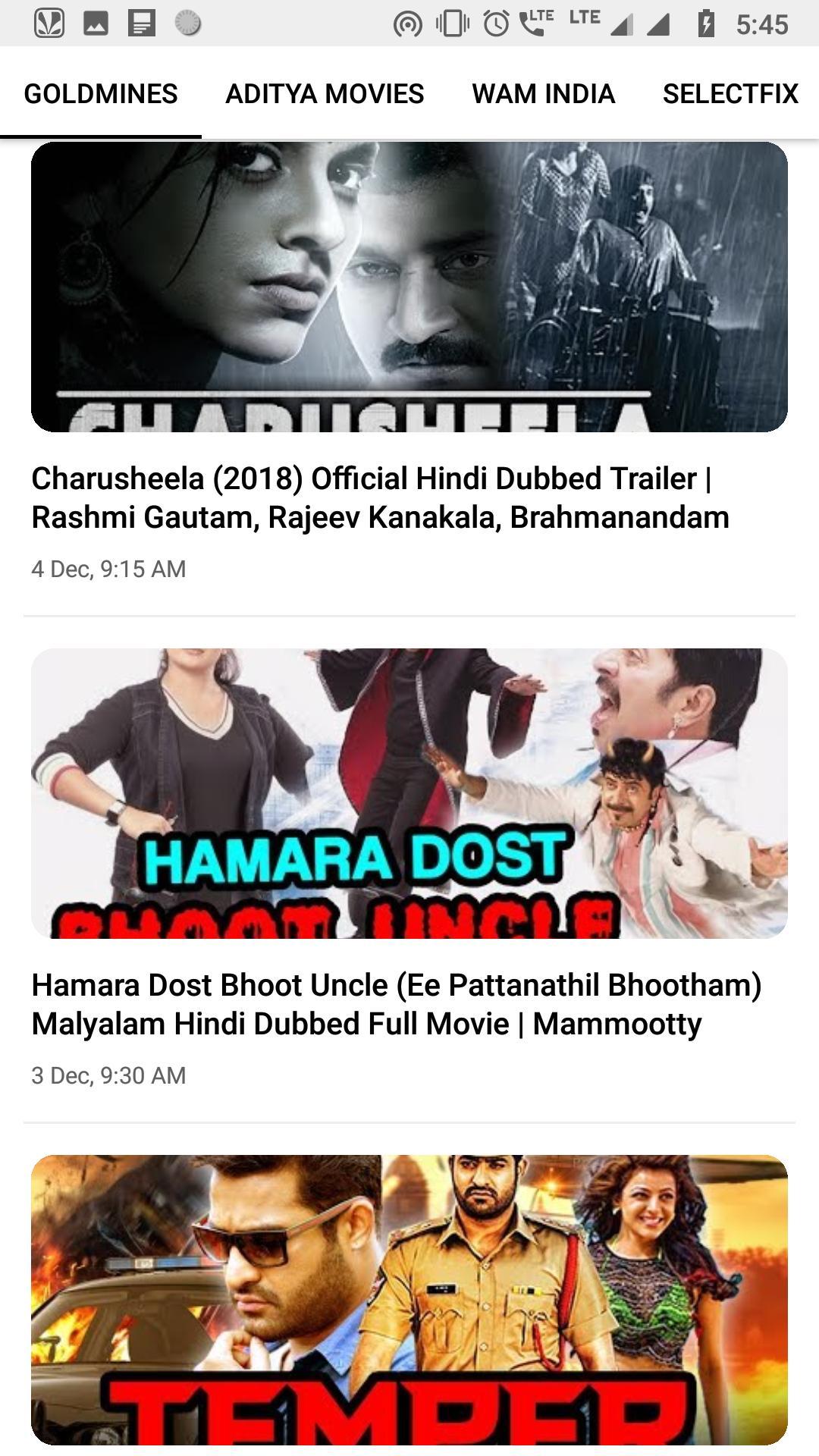 South Movies HD All in One (Hindi Dubbed) для Андроид