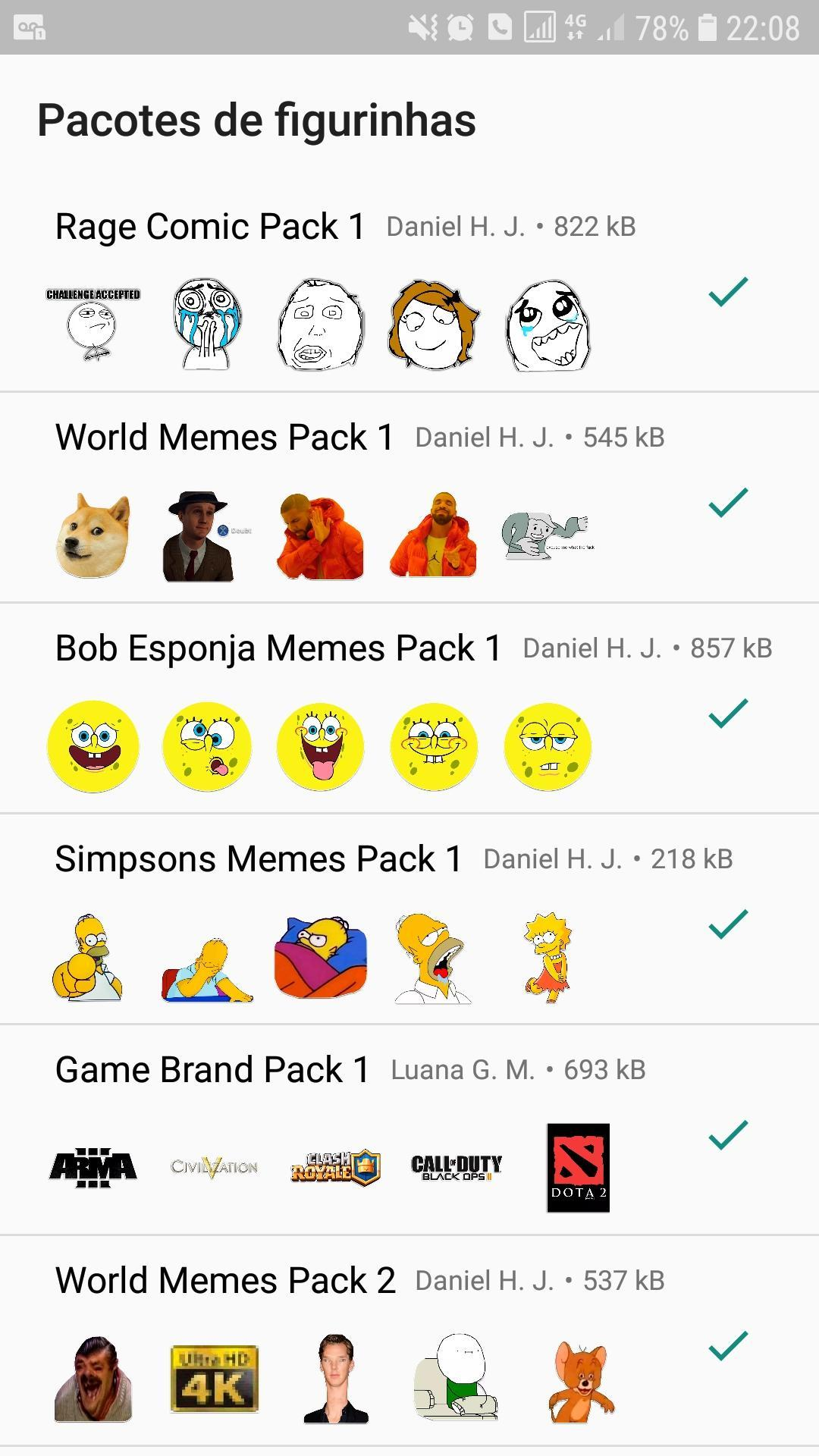 WAStickerApps - Meme Stickers: 4Fun for Android - APK Download