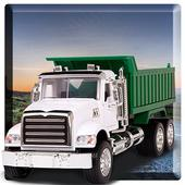 Real Garbage Dumper Truck Driving Simulator icon