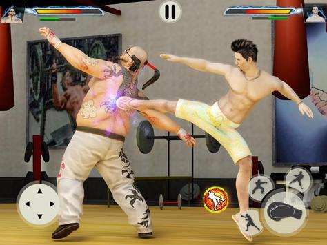 GYM Борьба Игры: Культурист Тренер Fight PRO постер