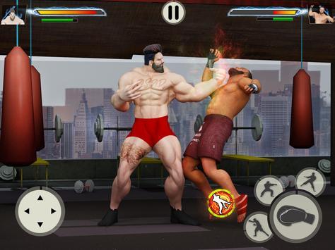 GYM Борьба Игры: Культурист Тренер Fight PRO скриншот 1