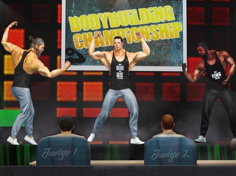 GYM Vecht Spellen: Bodybuilder Trainer Fight PRO screenshot 2