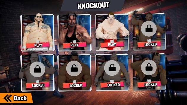 GYM Борьба Игры: Культурист Тренер Fight PRO скриншот 13