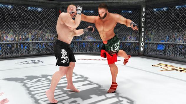 فنون الدفاع عن النفس القتال : MMA التدريب ماستر تصوير الشاشة 2