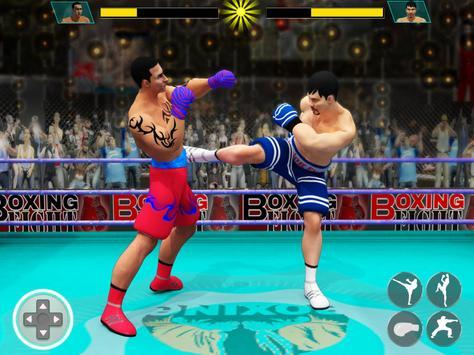 Real Punch Boxing Games: Kickboxing Super Star screenshot 12