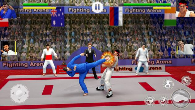 Tag Team Karate Fighting Games: PRO Kung Fu Master poster