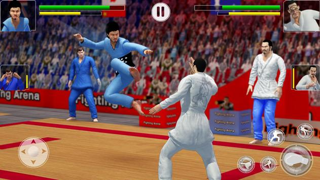 Tag Team Karate Fighting Games: PRO Kung Fu Master screenshot 1