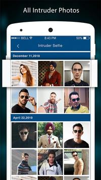 Intruder Face Detection -  Security App Lock screenshot 1