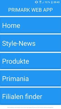 Primark Online App poster